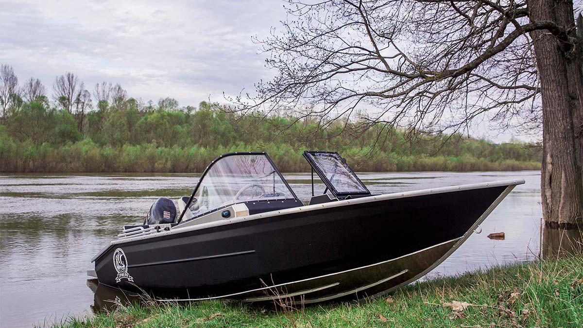Алюминиевая лодка Триера 460 Фиш в Липецке