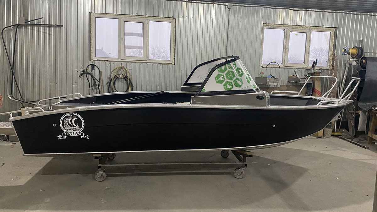 Алюминиевая лодка Триера 490 Фиш в Липецке